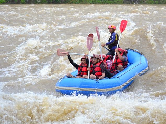 rafting Sungai Serayu