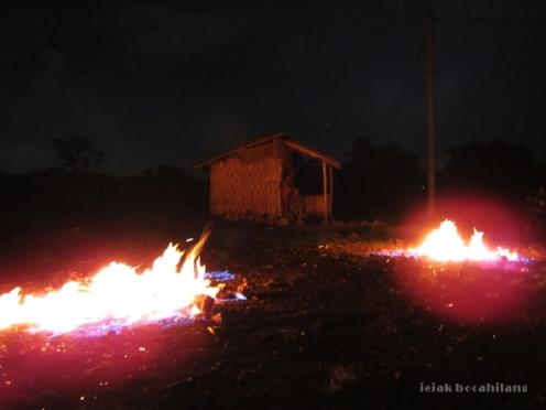 api tak kunjung padam di Pamekasan