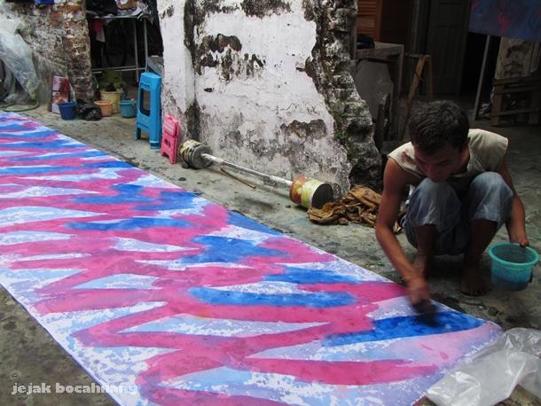 Batik Abstrak Pandono