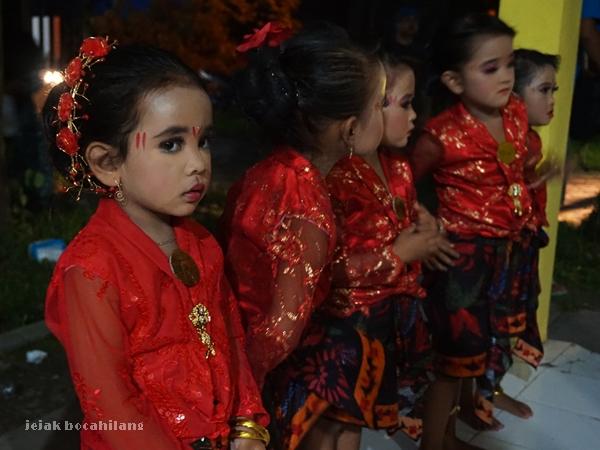 penari cilik Desa Ketetang Kwanyar
