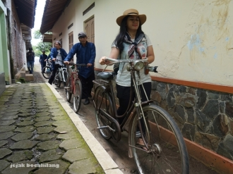bersepeda di Desa Wisata Malangan