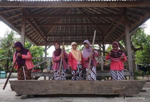 gejog lesung di Desa Kebonagung