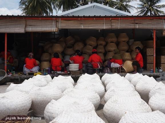 Bamboo handydraft Tunggak Semi di Malangan, Moyudan