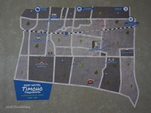 surrounding POP Hotel Timoho