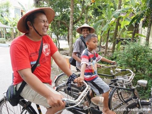 sepda onthel Desa Wisata Kebonagung