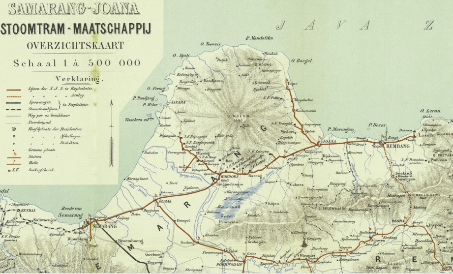 peta jalur kereta SJS