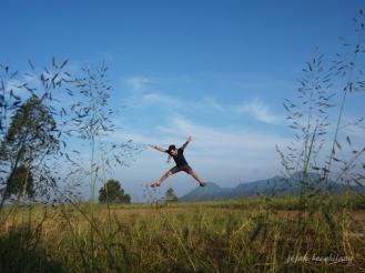 Bukit Amping di Pujon Kidul