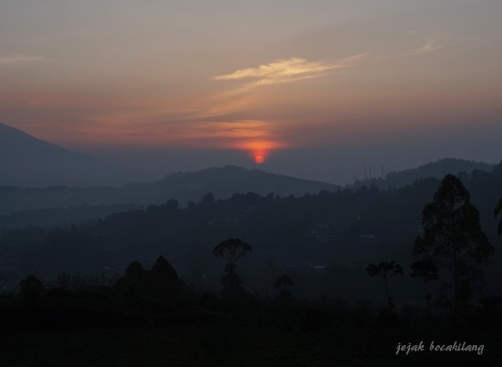 sunrise di Pujon Kidul