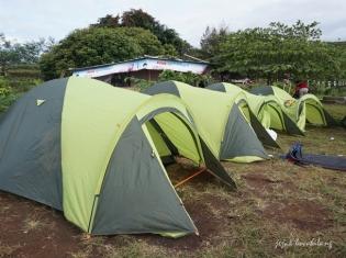 tenda di Bukit Tranggulasih