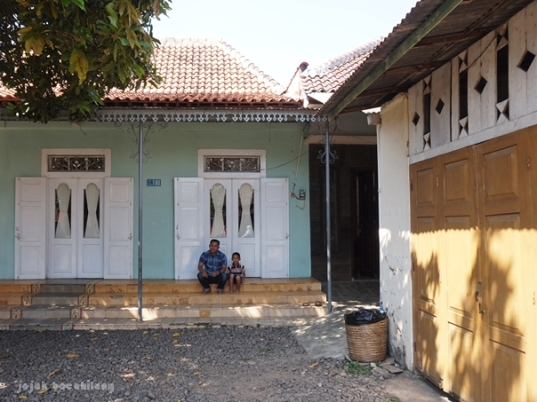 rumah tua di Desa Rowokembu Wonopringgo