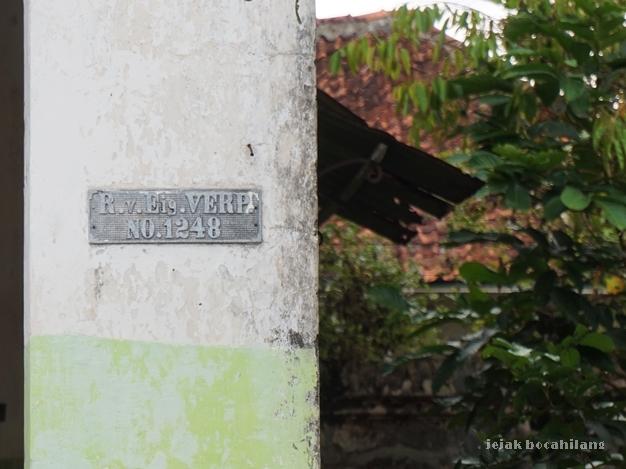 plat nomor rumah Banyumas