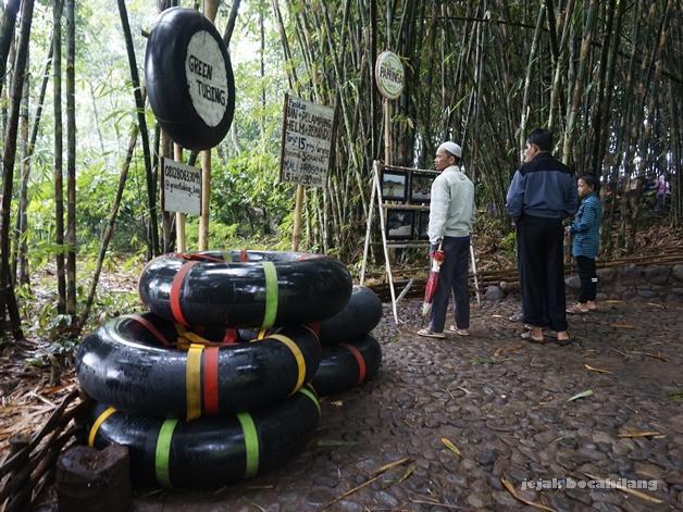 green tubing Pasar Papringan Ngadiprono