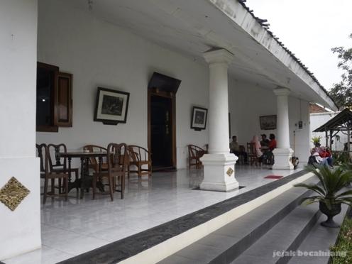 rumah kung fu atau bekas rumah Lauw Djeng Tie