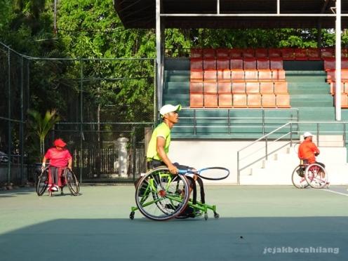 tenis kursi roda Indonesia