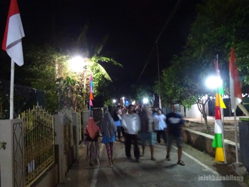 Desa Wonopringgo malam