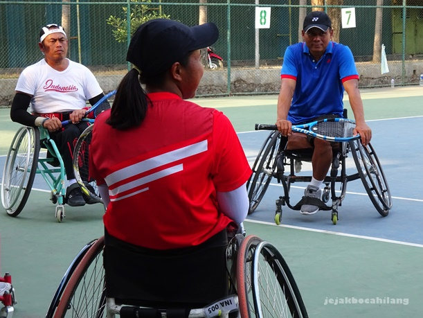 atlet wheelchair tennis Indonesia