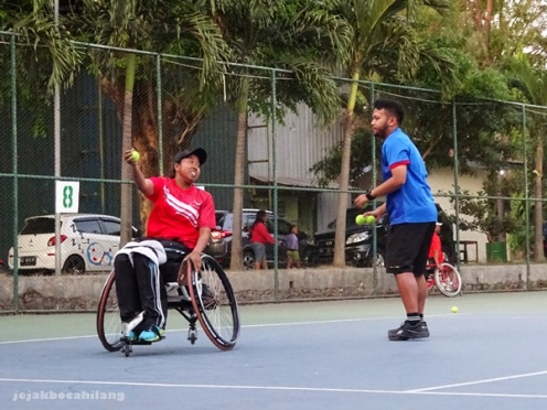 Ndaru Patma Putri, atlet wheelchair tennis