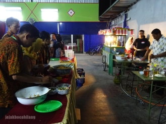 suasana Pos 1 Festival Nasi Goreng