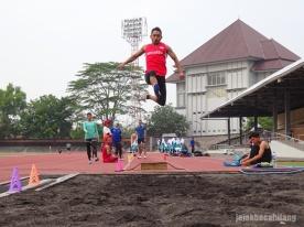 atlet lompat jauh Para Athletics