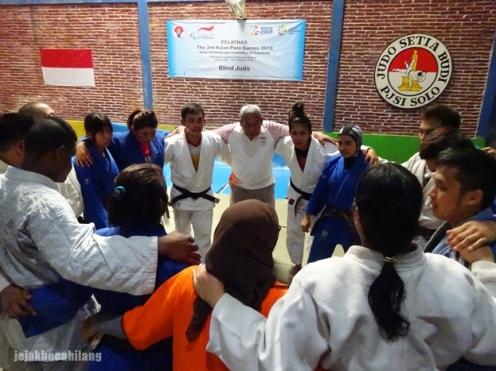 Blind Judo Para Games Indonesia