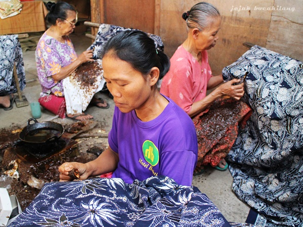 pengrajin batik Klaten