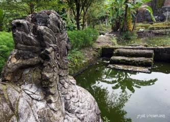 Burung Beri kolam Situs Gua Seluman