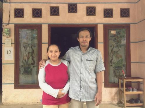 pemilik homestay Desa Bareng